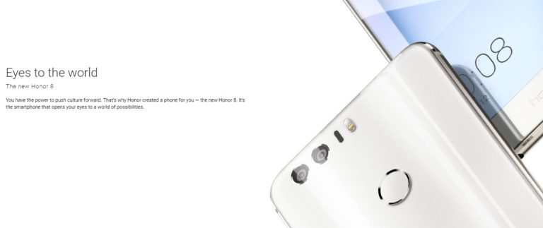 Huawei Honor 8 Dual Camera Soon to be Launched in India