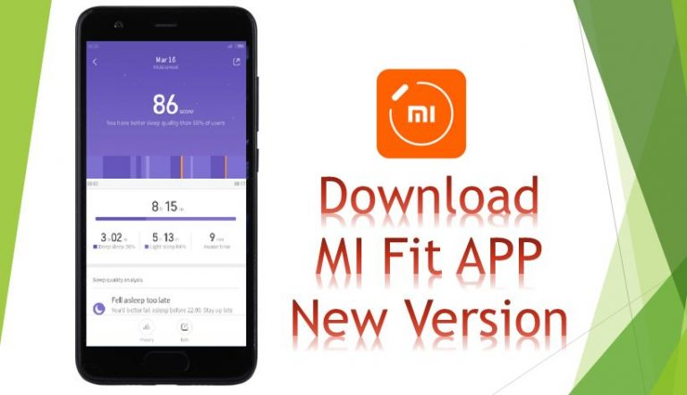 Download Latest Mi Fit APK Android | Feb 2018 Update