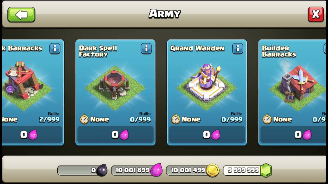 Unlimited Army COC- FoneTimes