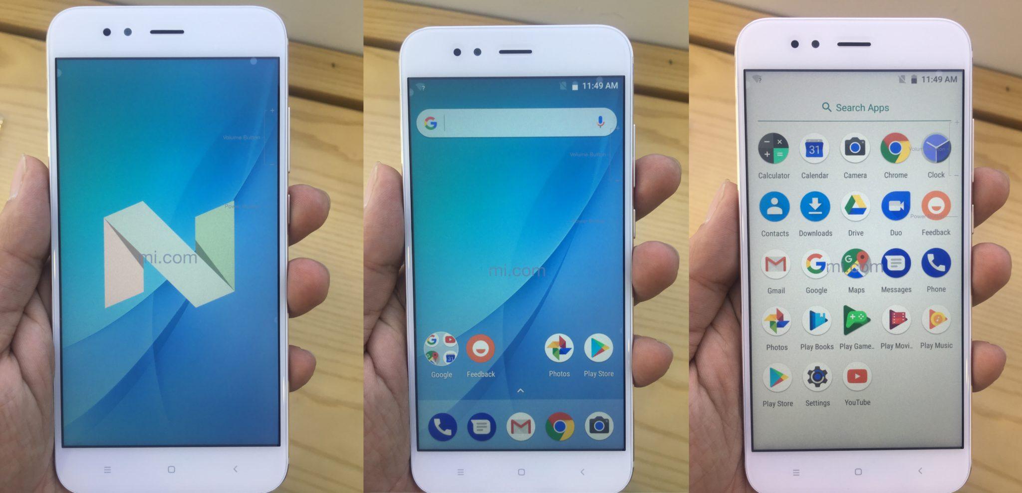 Xiaomi Mi A1 Display-FoneTimes