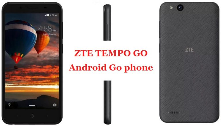 ZTE Tempo Go First Android Go Smartphone | Android Go