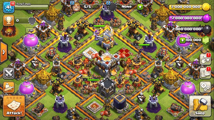 CoC_Private_Server_FoneTimes.com