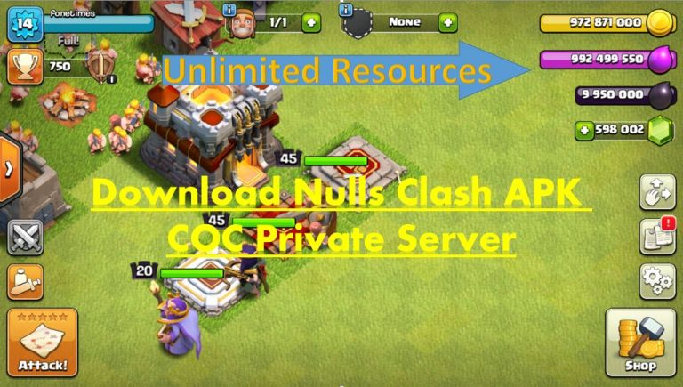 Download Null's Clash APK | 2021 Update | CoC Private Server