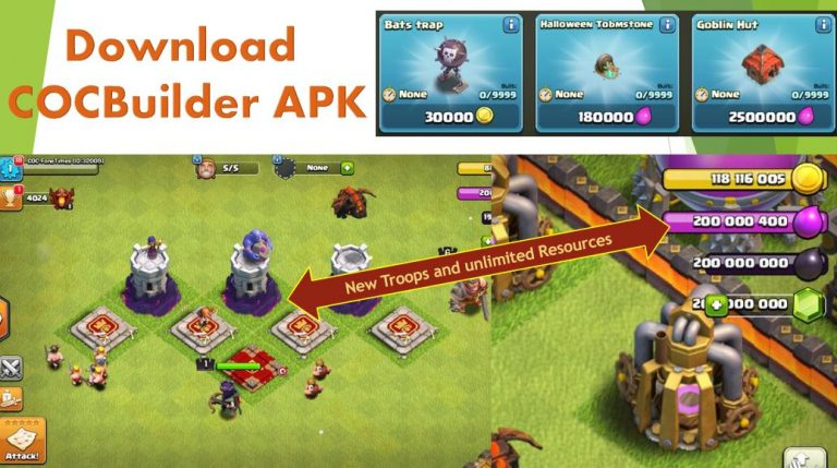 Download COCBuilder APK COC Private Server | No Root Required