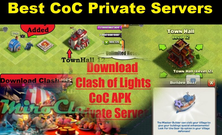 List of Best and Most Popular CoC Private Server 2018