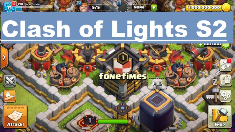 Download Clash of Lights S2 APK – LightsServer   CoC Private Server