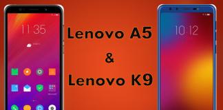 lenovo k9 and lenovo a5