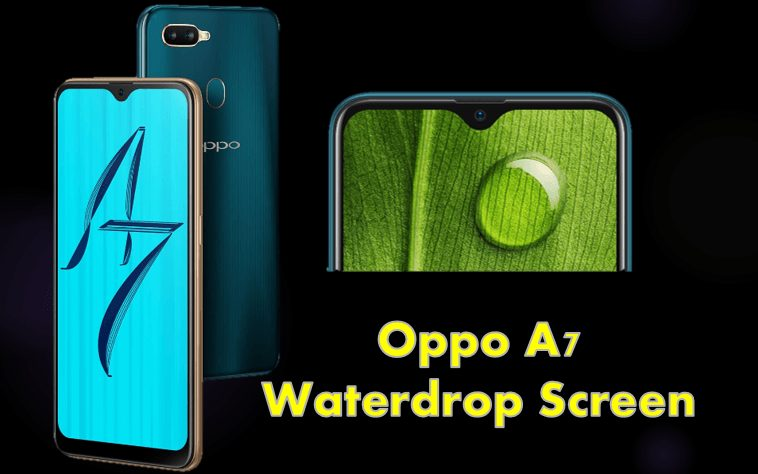 OPPO A7- Waterdrop Screen and a powerful 4230mAh battery