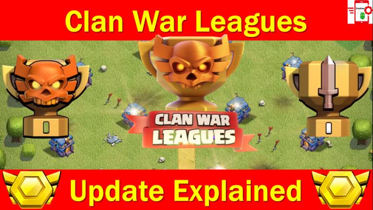 Clash of Clans APK | Clans War Leagues 2018 Update